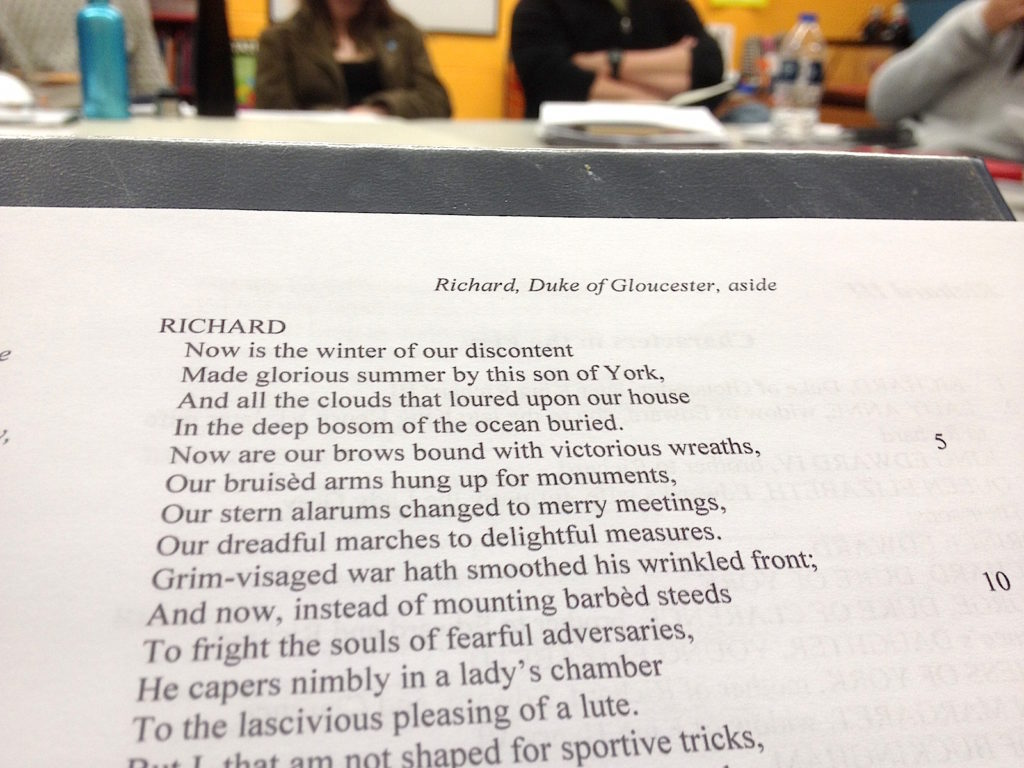 Richard III Reading