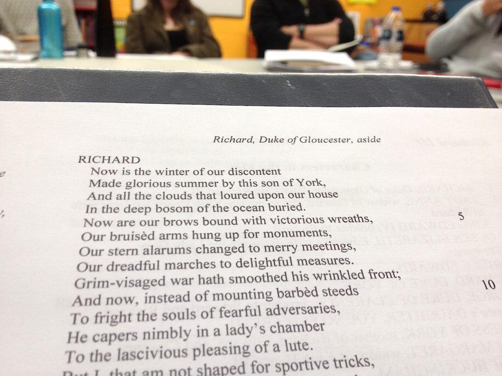 Richard III Reading
