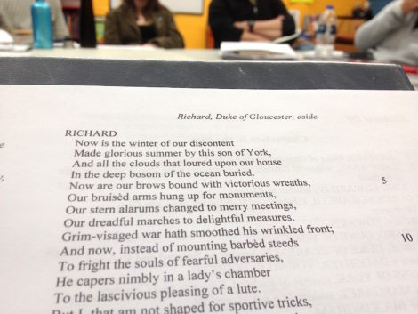 Playing Shakespeare's Richard III in Chicago
