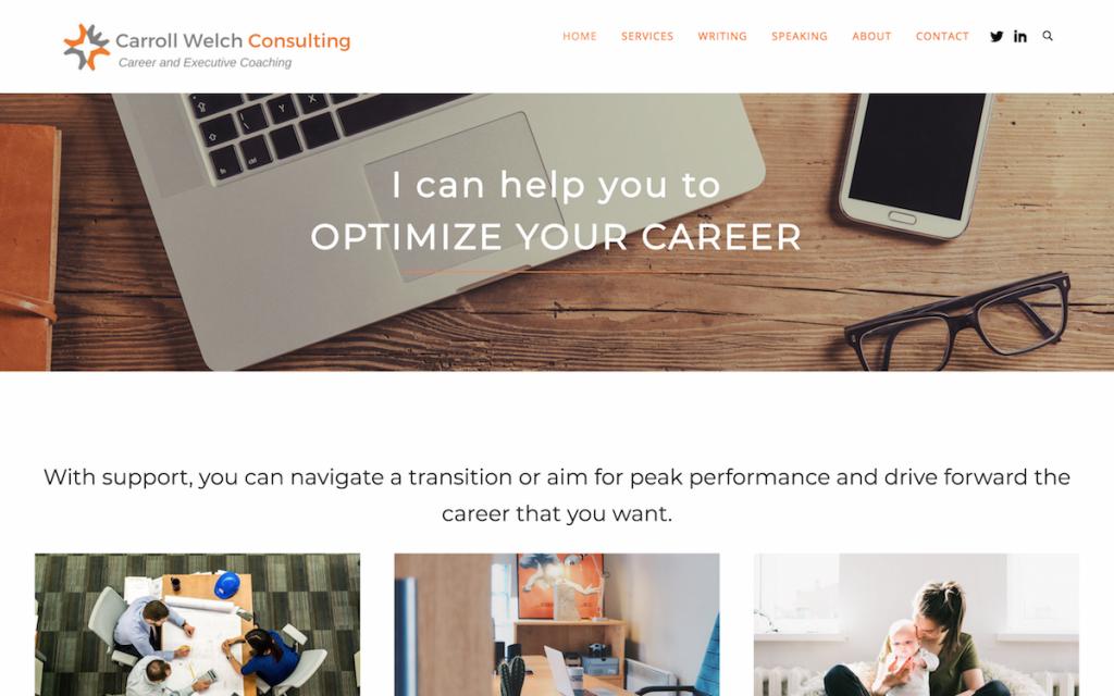 Carroll Welch website